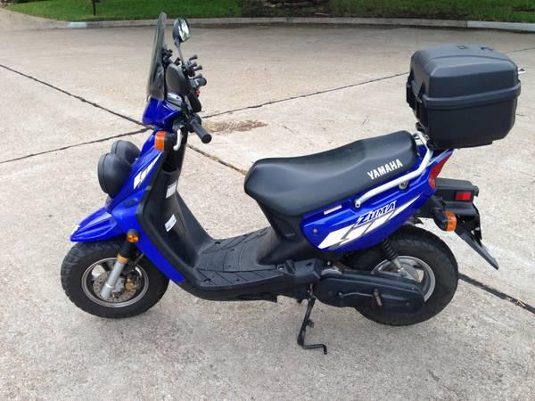 FS: Yamaha Zuma 50cc 2004 in Blue w/ Clear Tx Title - $1650