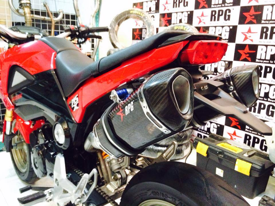 2017 Honda Grom >> Comprehensive list of Exhausts available for the Honda Grom / Honda MSX125 - Page 40