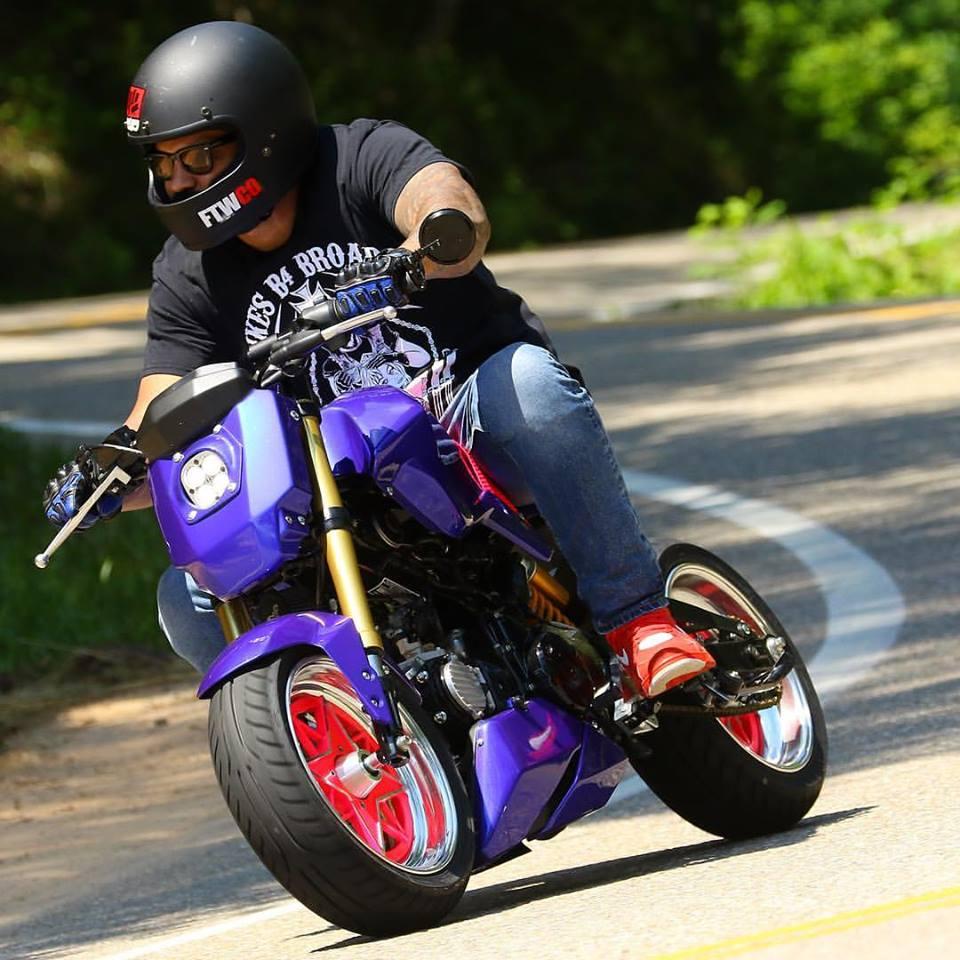 2014 Full Custom Honda Grom Street Fighter