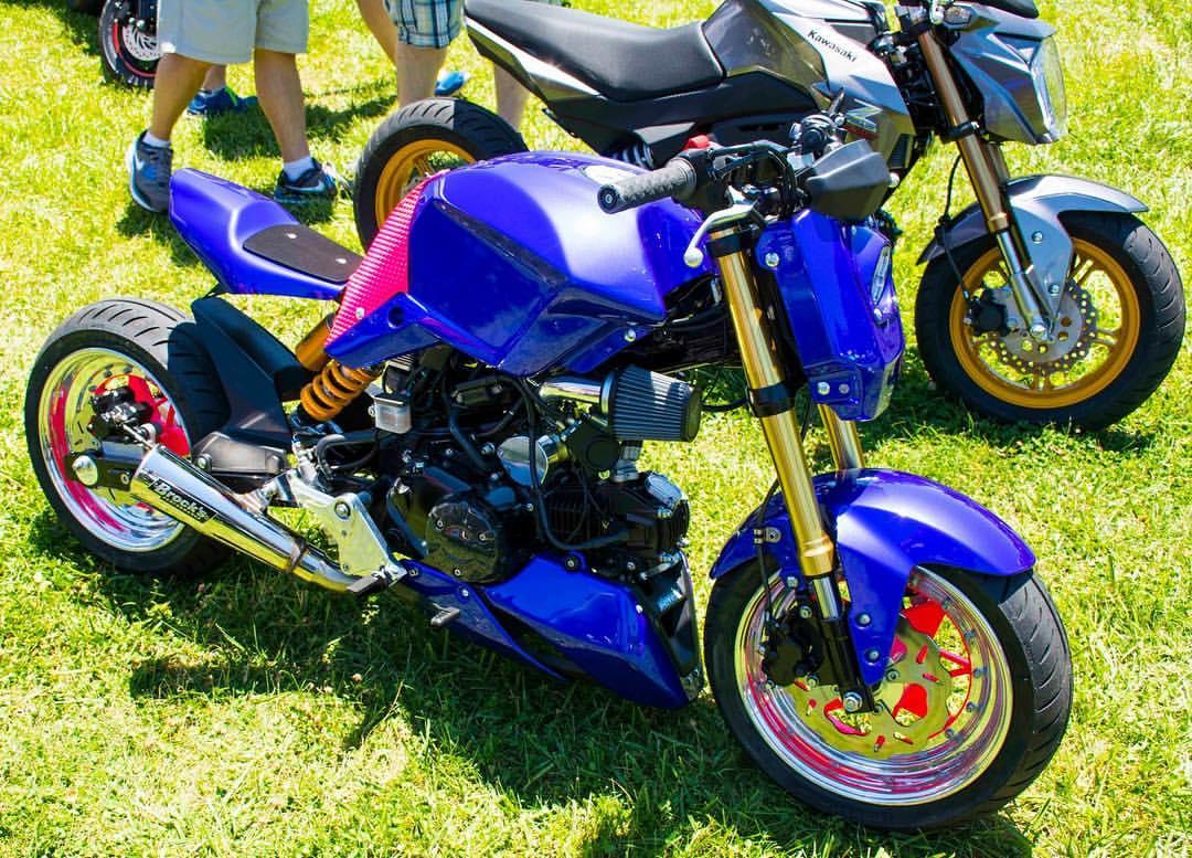 Honda Grom Build >> 2014 Full Custom Honda Grom Street Fighter