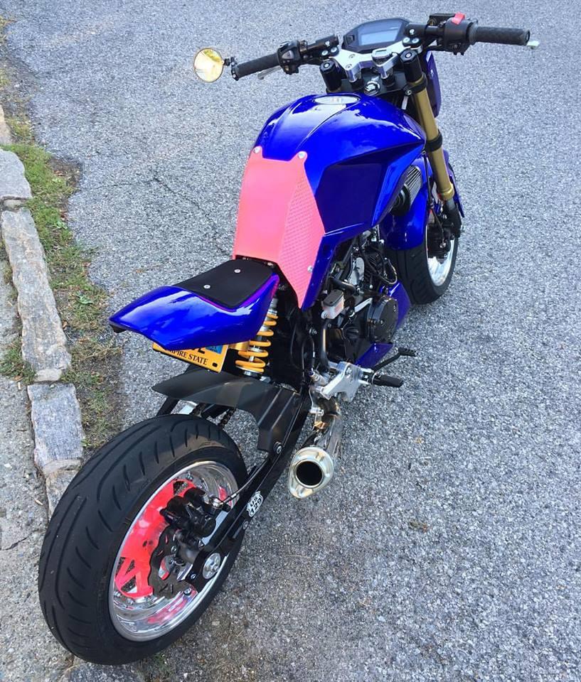 Honda Grom Price >> 2014 Full Custom Honda Grom Street Fighter