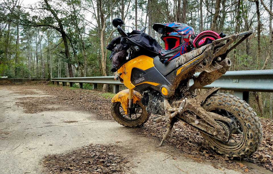 Grom Abuse The Struggle Is Real Offroad Enduro Gromming