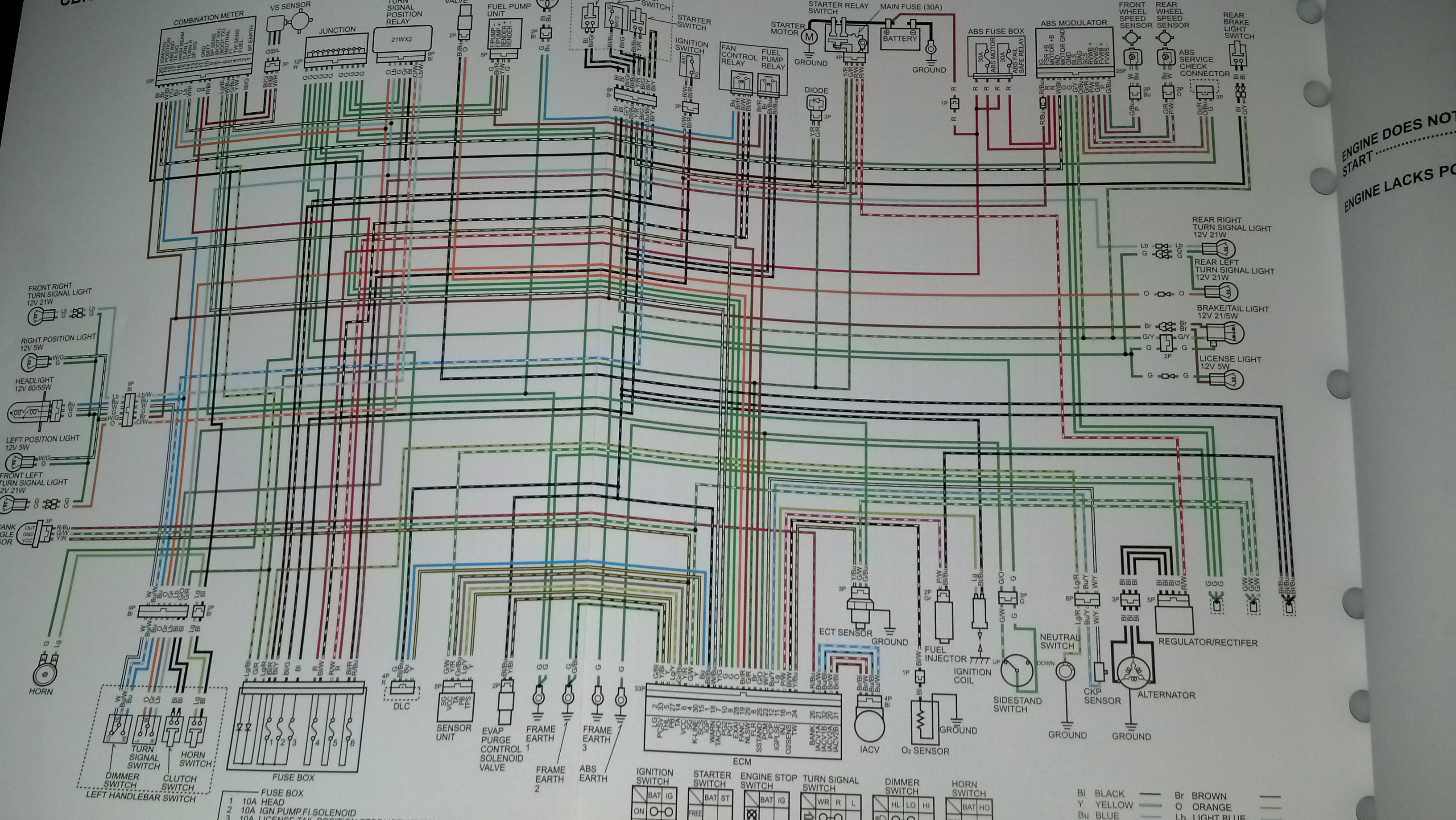 Wiring Diagram Of Karizma R : Build msx r cbr swap