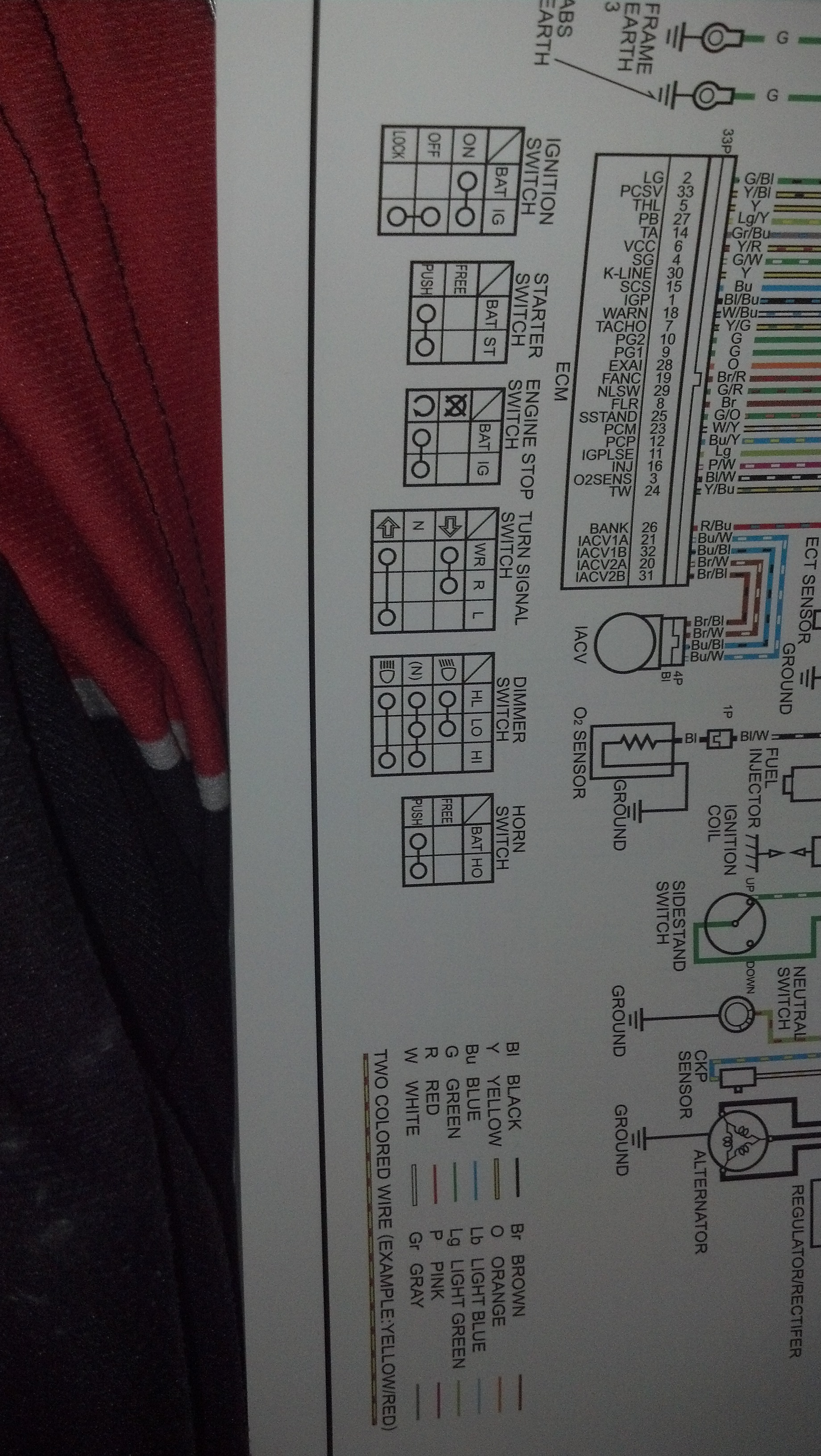 Build Msx250r Cbr Swap 2012 Honda Cbr250ra Wiring Diagram 09 20 19 44 56 329