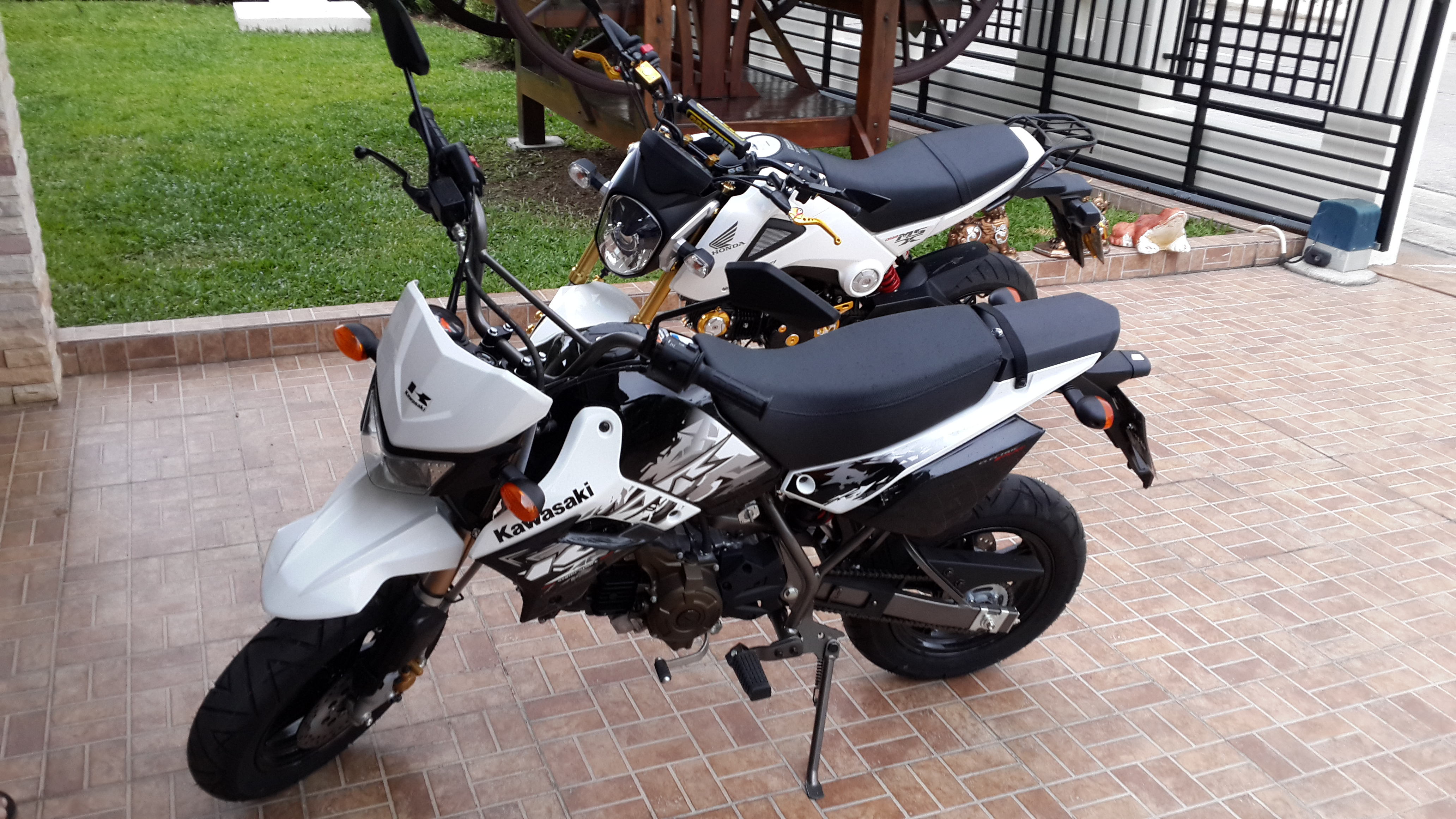 Honda Grom Build >> Build: ClutchAutomatic's MSX and KSR