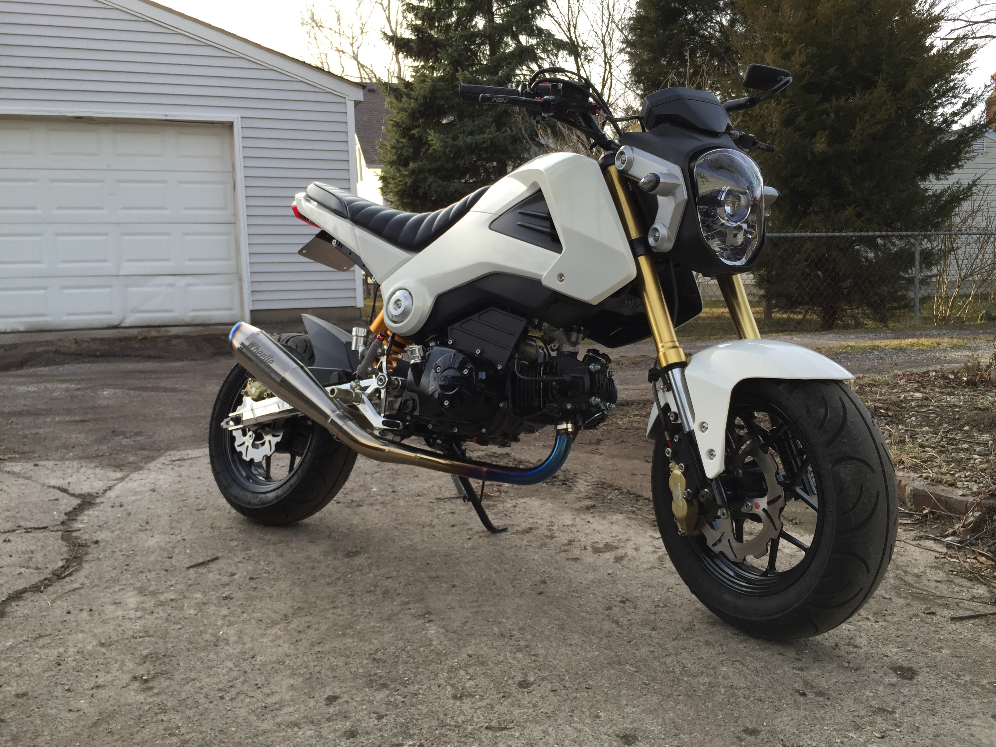 2015 Honda Grom >> March 2015 Honda Grom Of The Month Contest Aftermaket Mods Edition