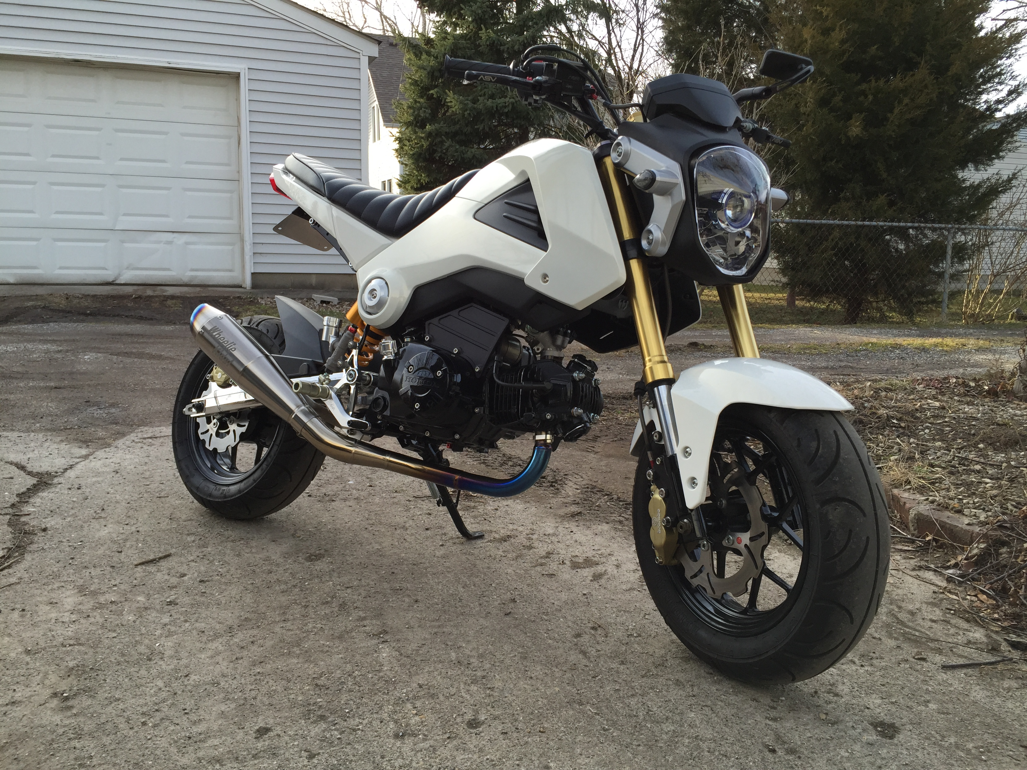 Build: ARunto's 218cc Grom