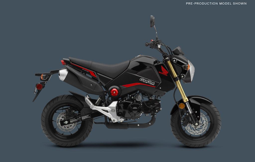 Honda's Beloved GROM Returns for 2015 with New Colors-2015_grom_black.jpg