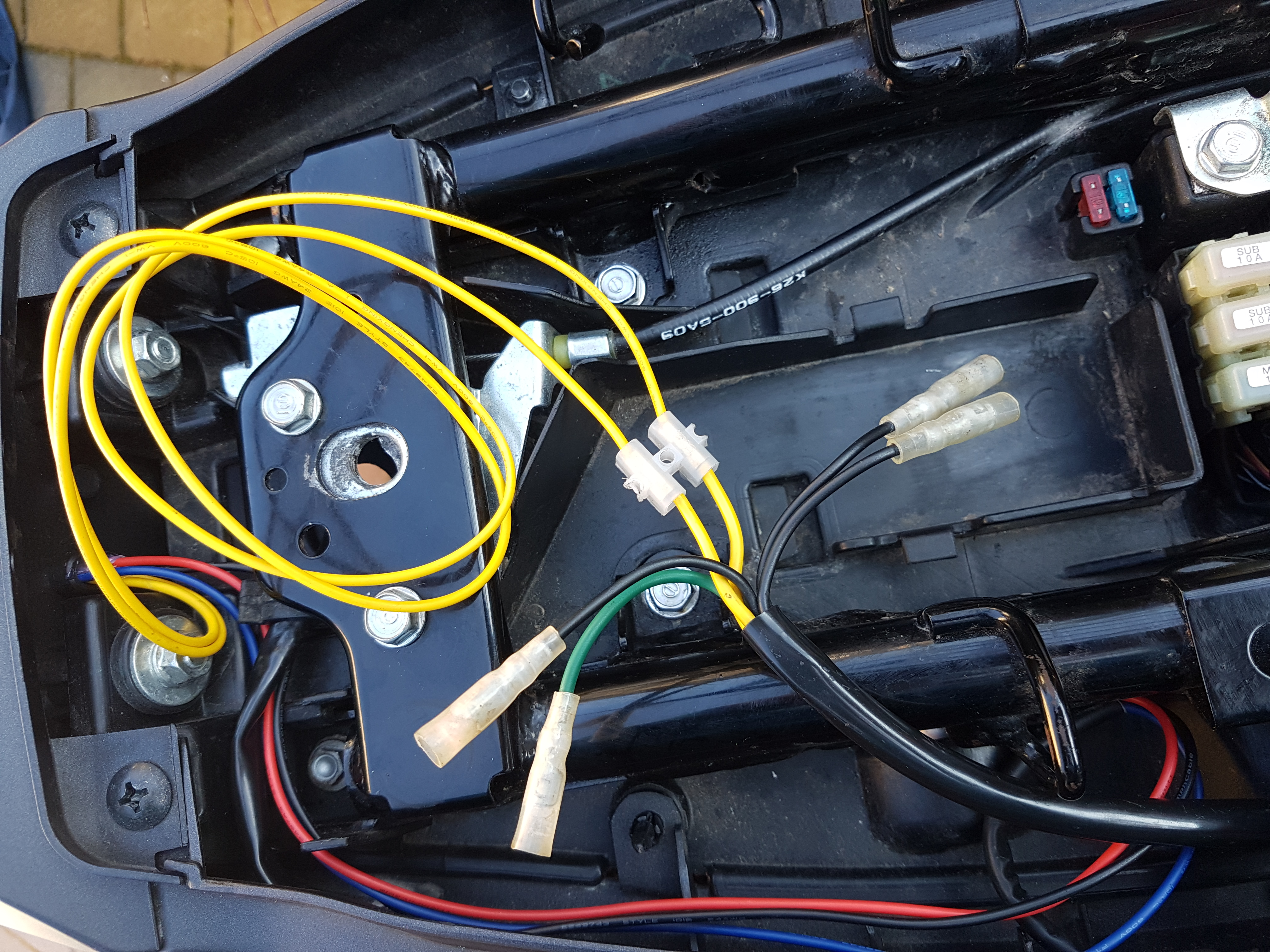 [SCHEMATICS_49CH]  Integrated Tail Light Wiring Issue   Honda Grom   Integrated Tail Light Wiring Diagram      Honda Grom