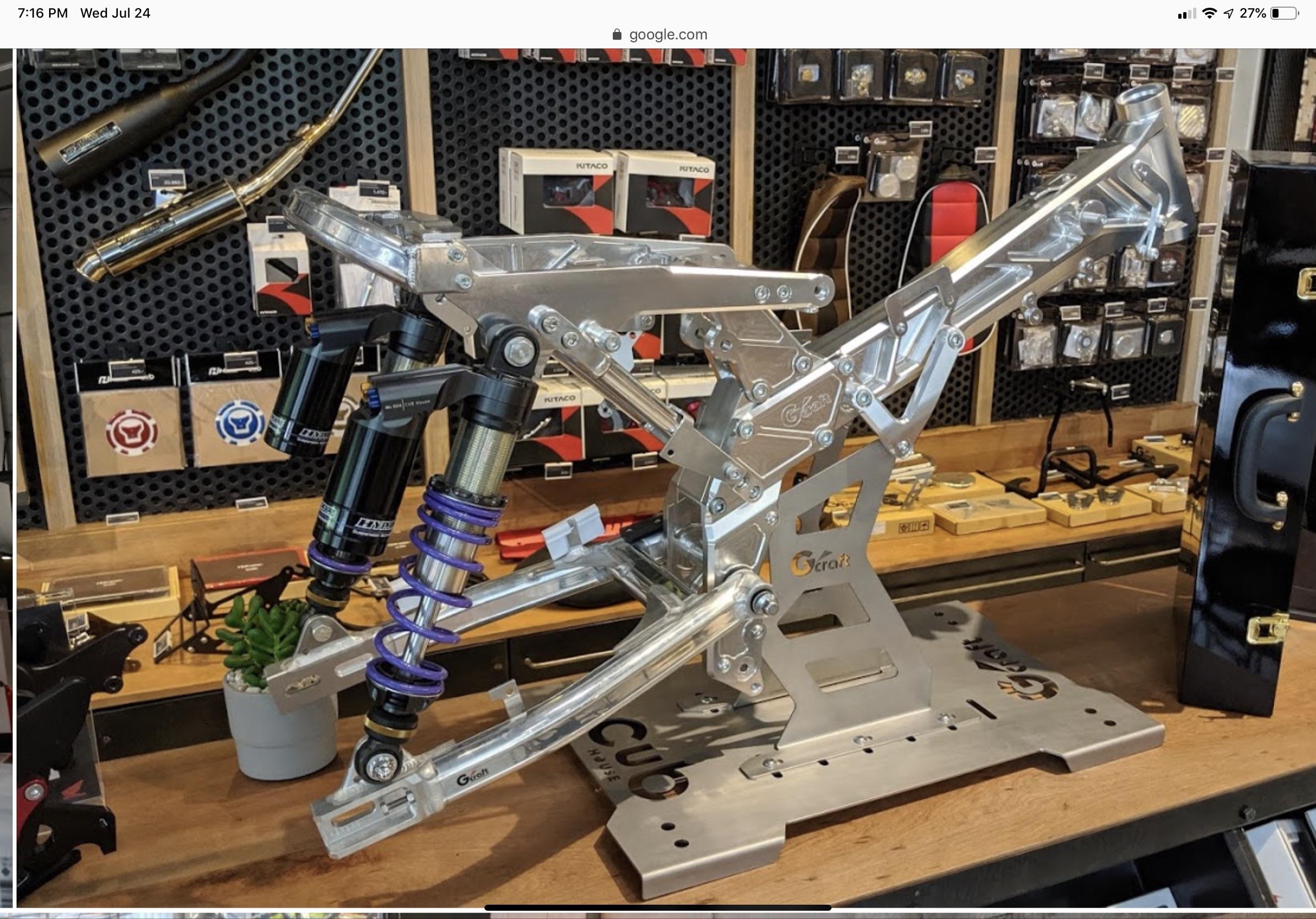 Aluminum G Craft Monkey frame omg so sexy-42478a71-03bc-468d-a045-b62ef0d82221.jpeg