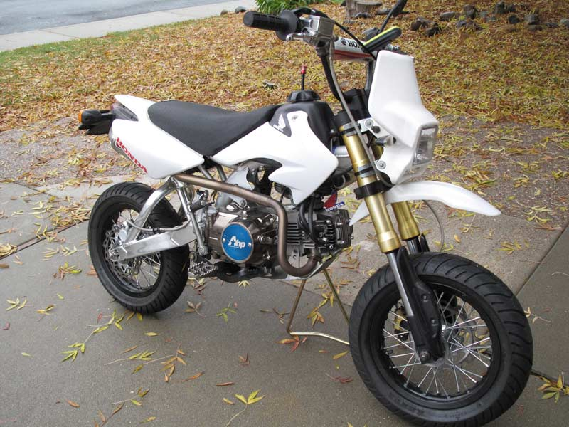 Looks Like I M Building A Street Legal Crf50