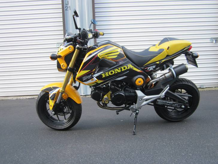 custom  honda grom  sale  southern oregon