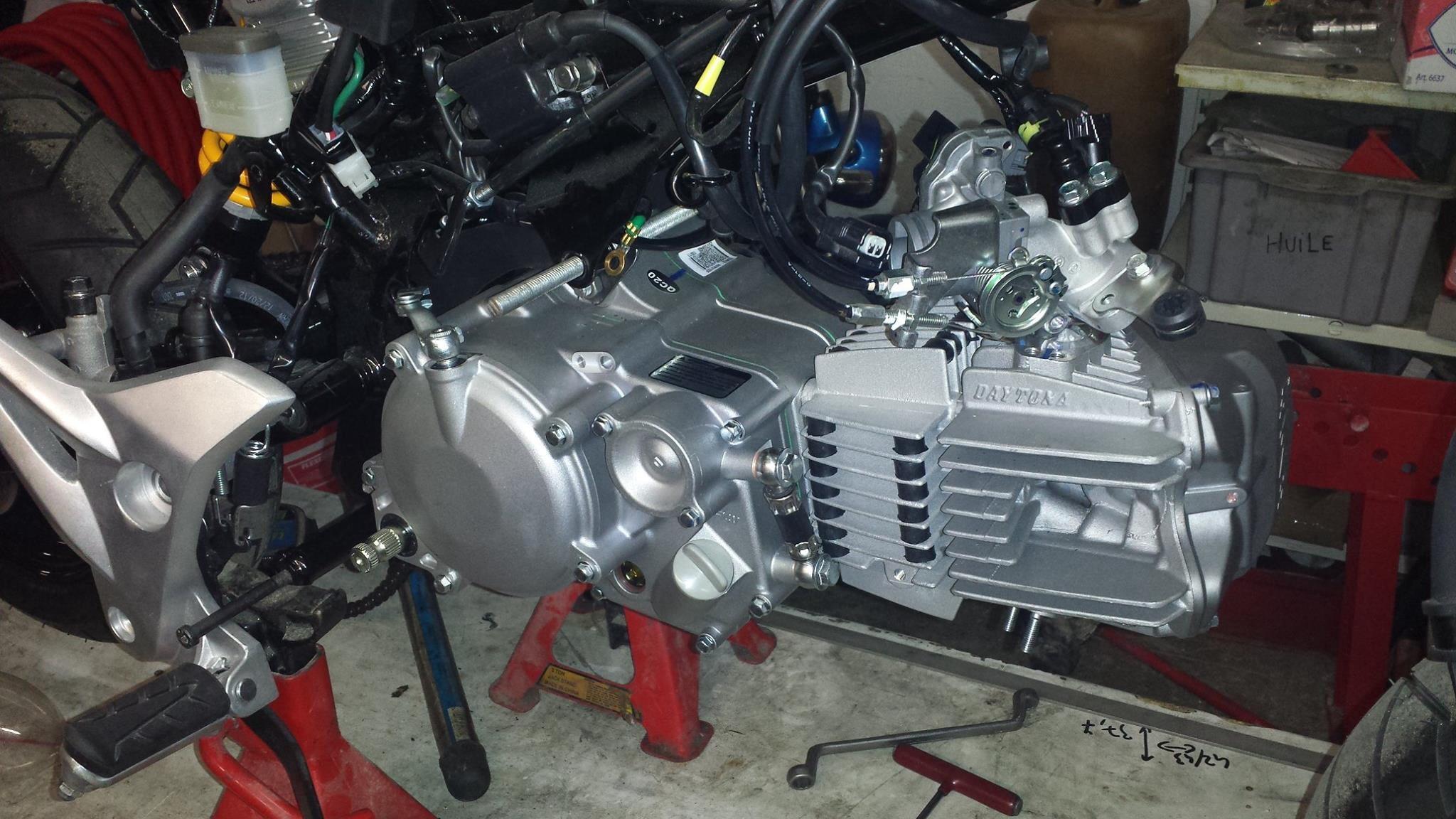 2015 Honda Grom >> Grom Daytona 190 4v anima engine swap mounts