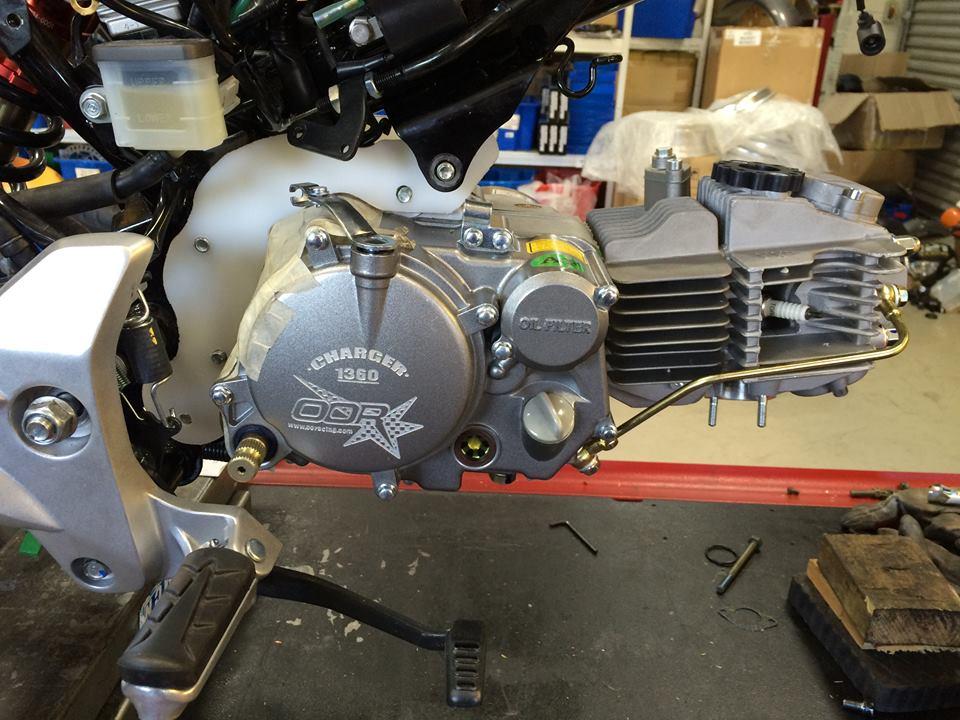 Honda Grom Build >> Grom Daytona 190 4v anima engine swap mounts