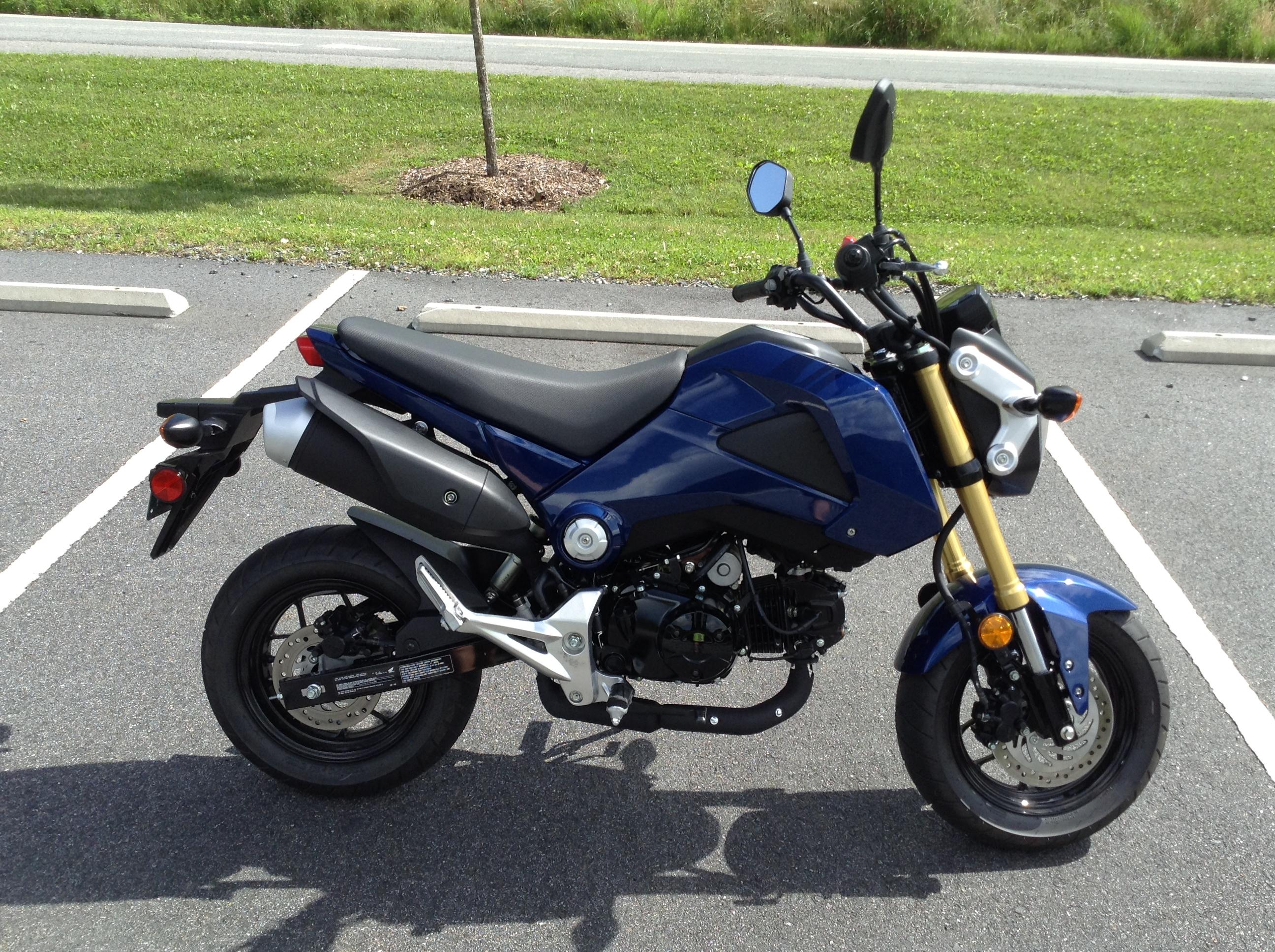 2014 Honda Grom Blue $3200 NC