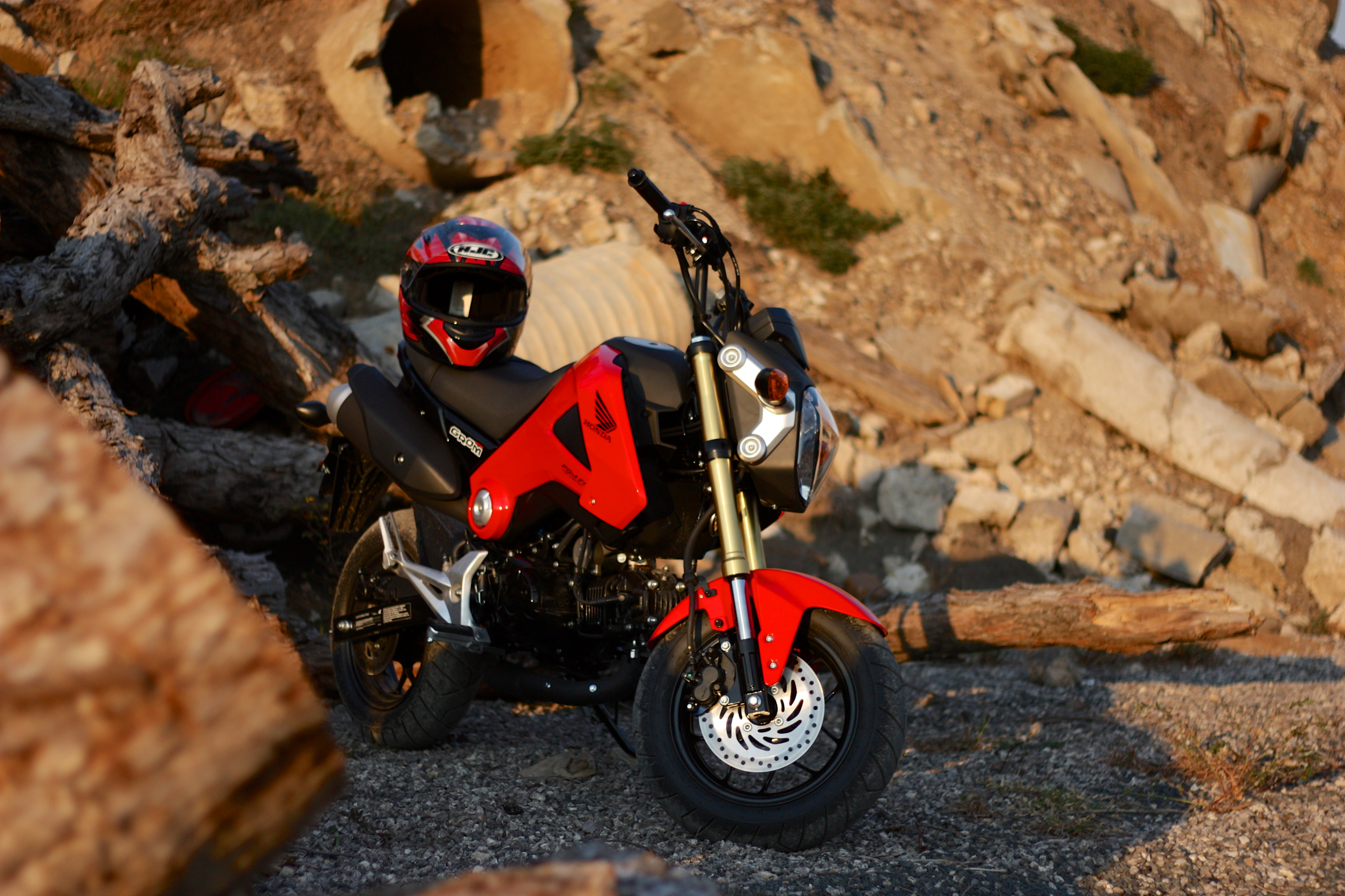 Honda Grom Friday The 13th Attachments