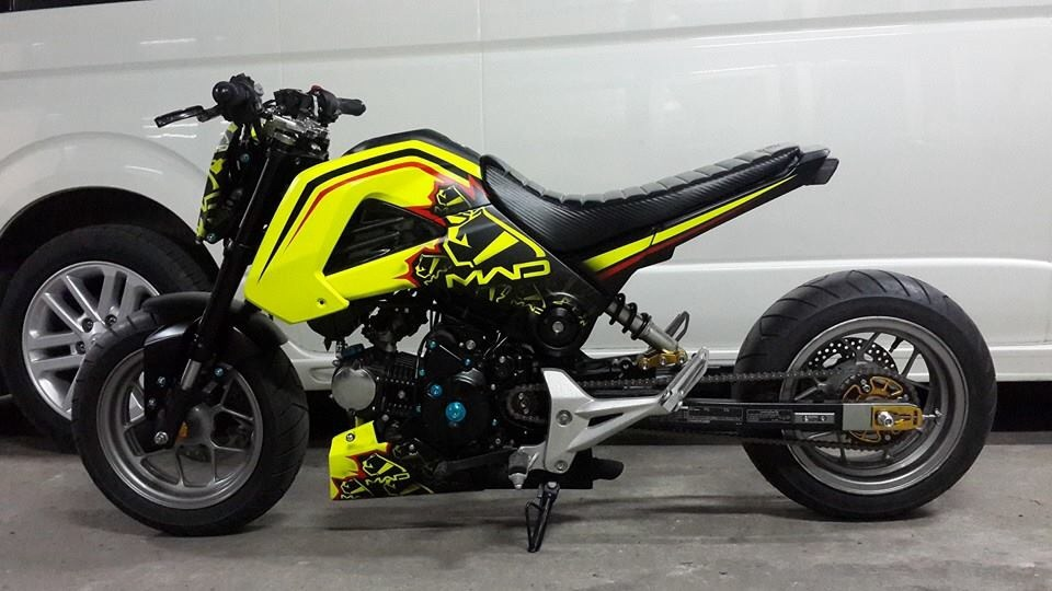 Mad Grom Lowering Front