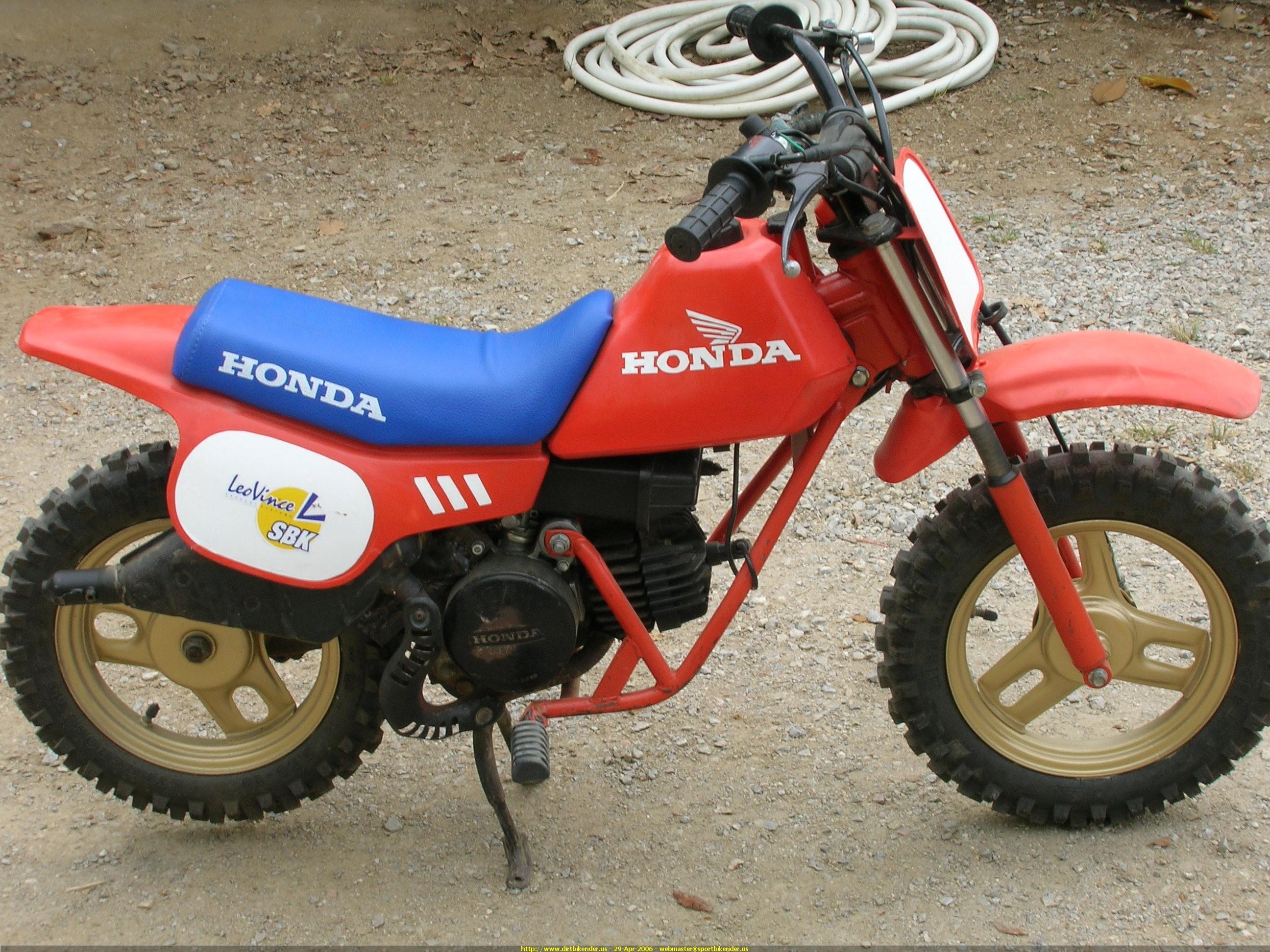 D What Your First Motorbike Honda Qr on Honda Trail 70 Clone