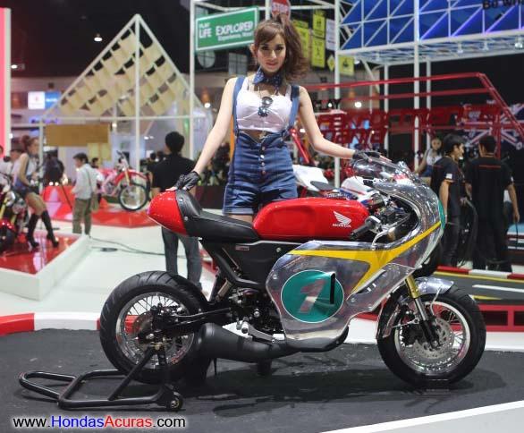 Honda chopper racing scooter concepts rc x mini replica vintage