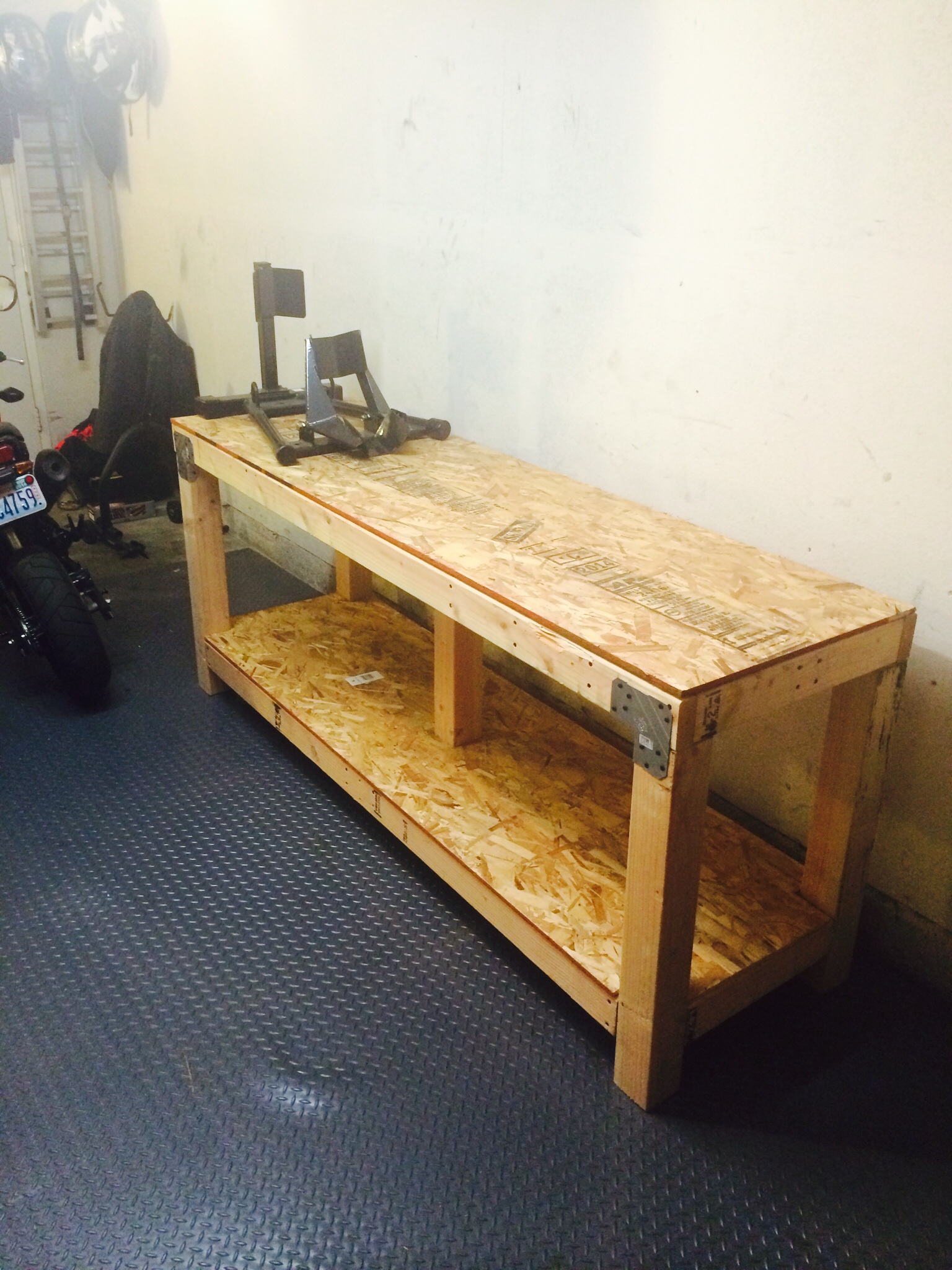 Peachy Homemade Motorcycle Table Lift Dailytribune Chair Design For Home Dailytribuneorg
