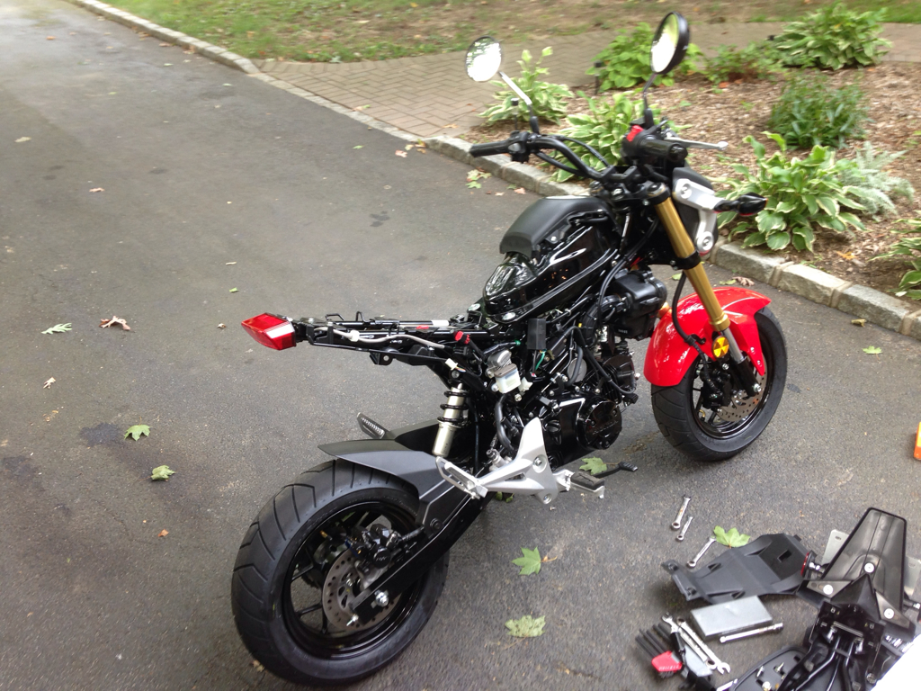 Build Chester S Grom Build