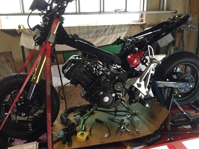 Honda Grom Cbr 250 Swap >> Build: MSX250R (CBR swap) - Page 4