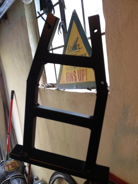 Grom wheelie bar