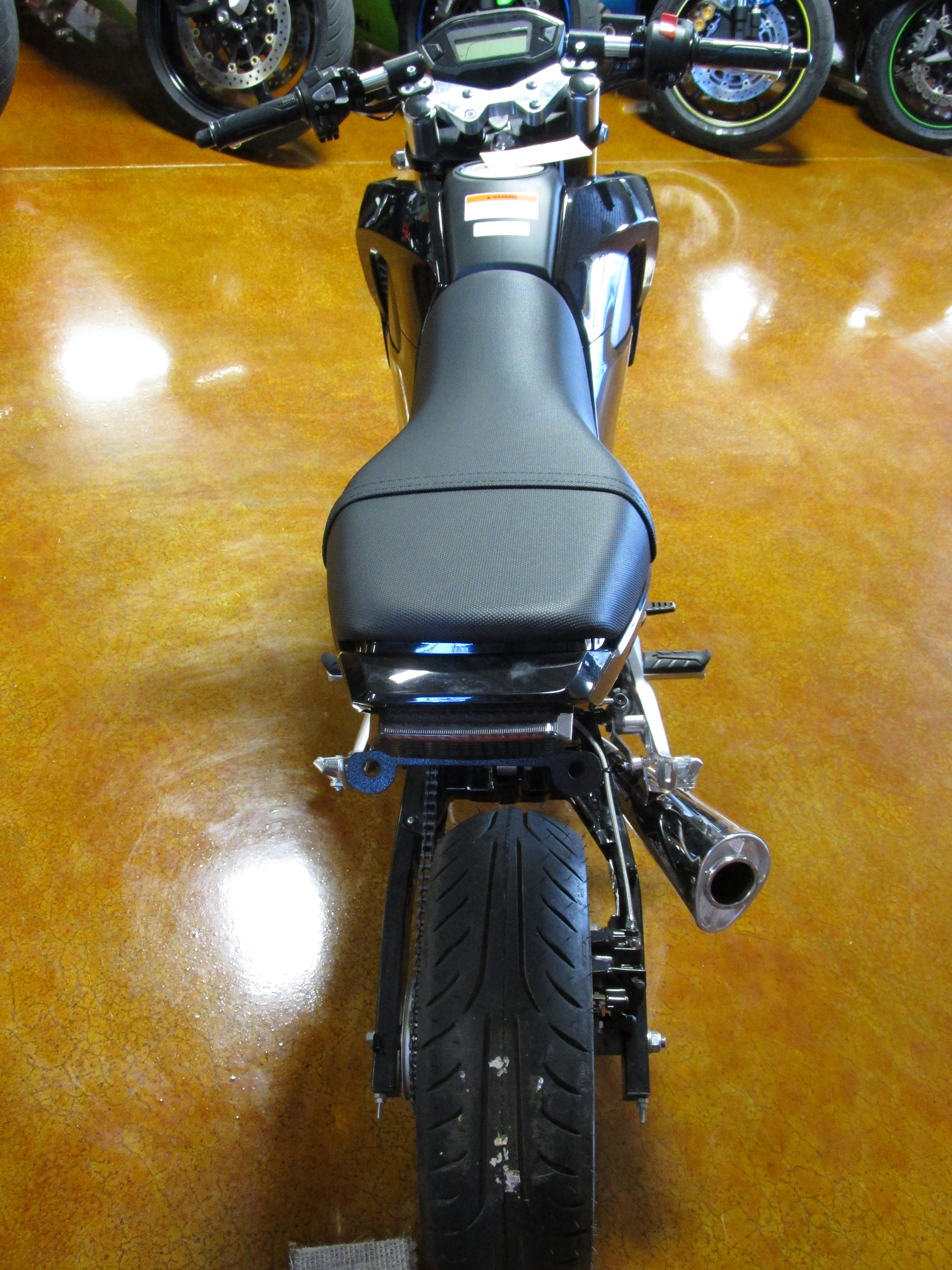 Build Your Own Honda Grom >> C and S Custom Wide Tire Kit on Garwood Custom Cycles BUild