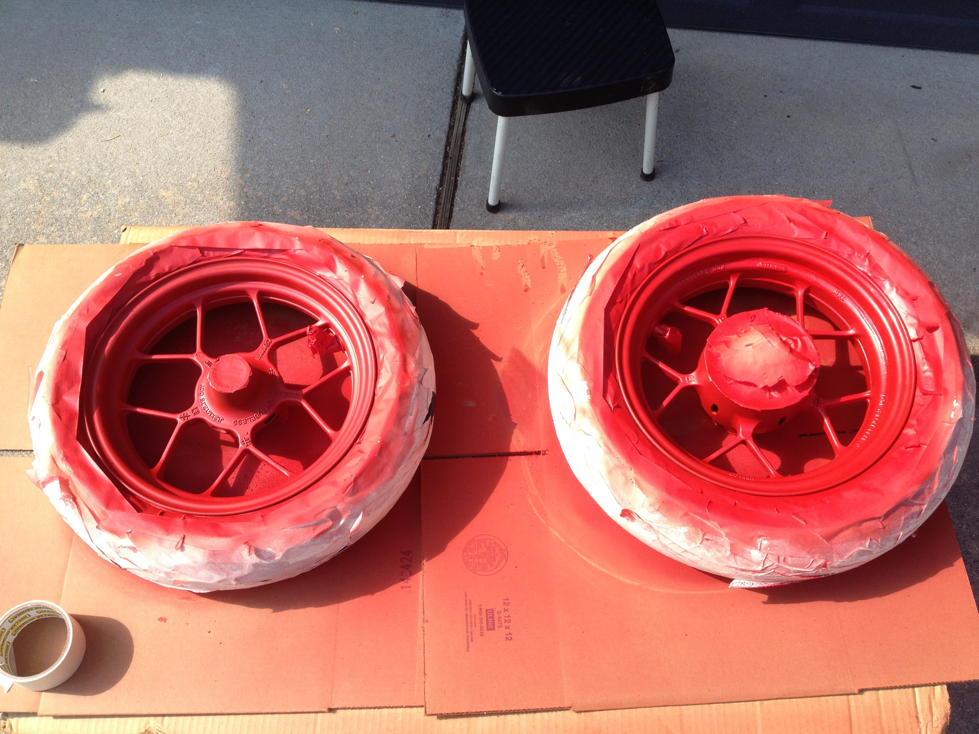 Got New Rubber Pirelli Gts 23 And Gts 24 And Red