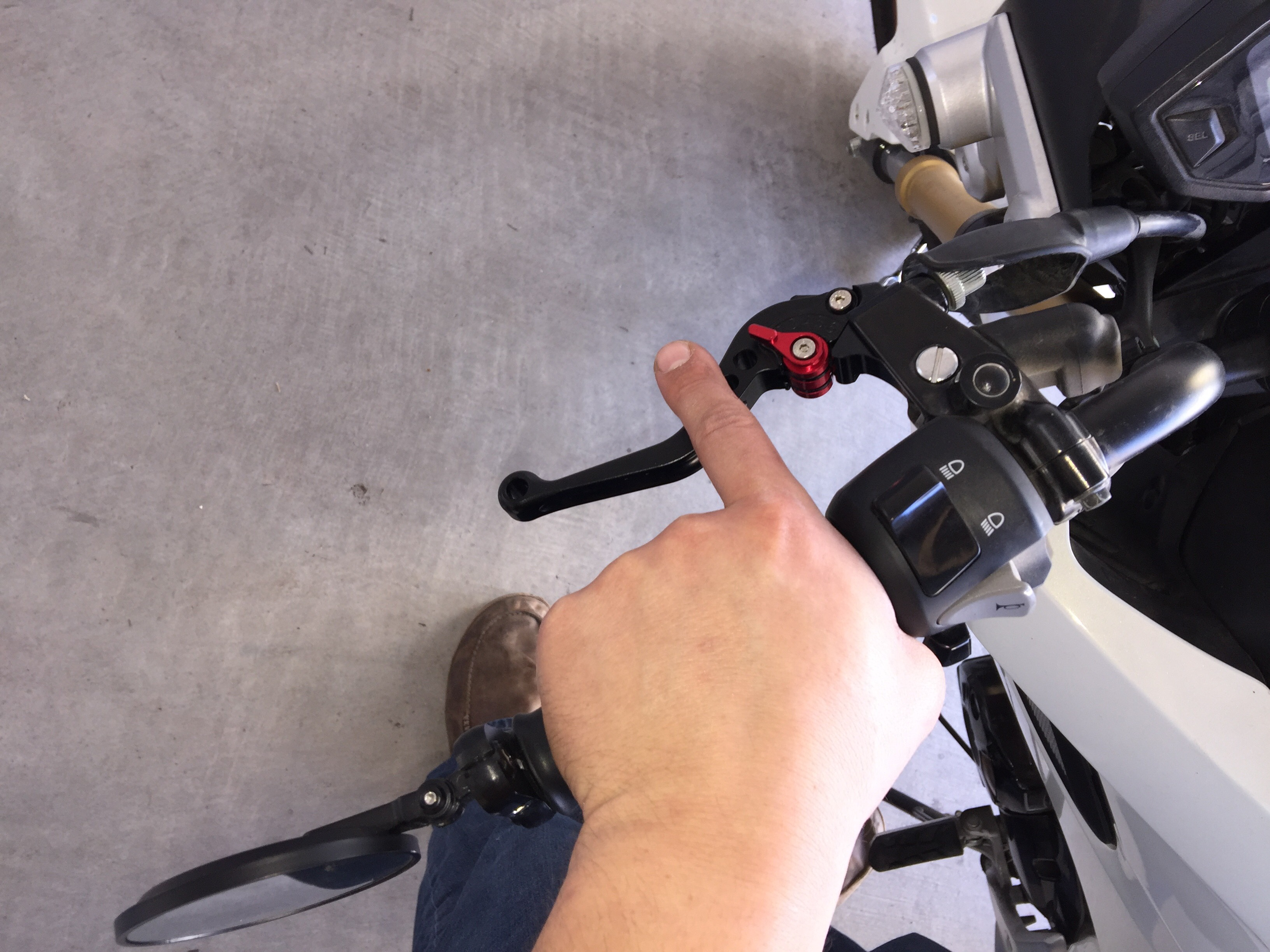 2015 Honda Grom >> NOT RECOMMENDED: Ride It Adjustable Short Brake and Clutch Levers