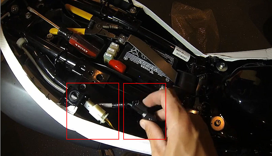 Offical Honda Grom  Msx Wiring Connectors  Interconnect To