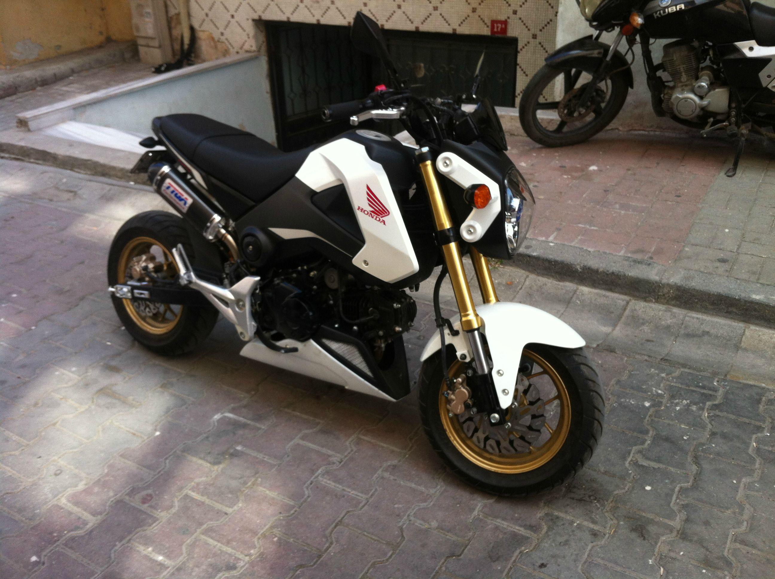 2015 Honda Grom >> 2015 MSX125 build from Turkey
