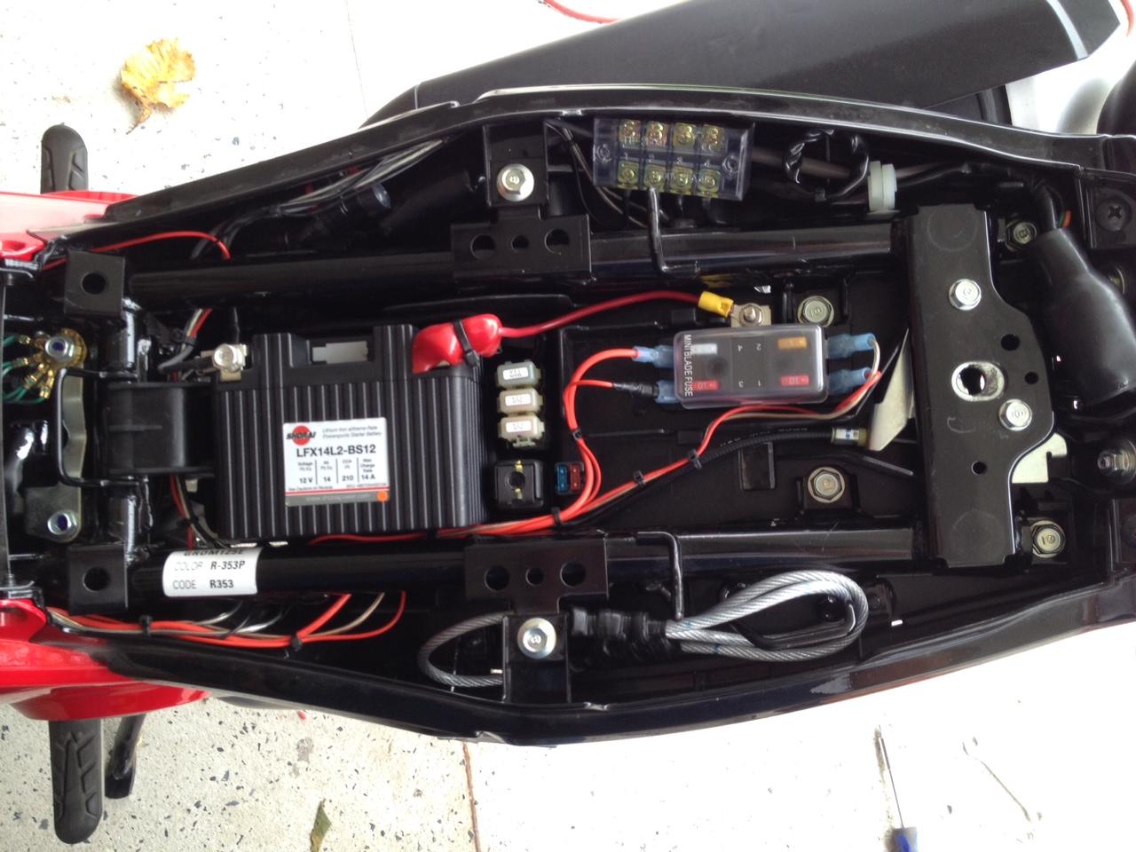 Dual Sport Wiring Electrical Diagram Tusk Kit Build Lantz S Hypermoto Rh Hondagrom Net