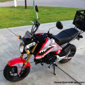 Dirty Air Craft Grom decal kit