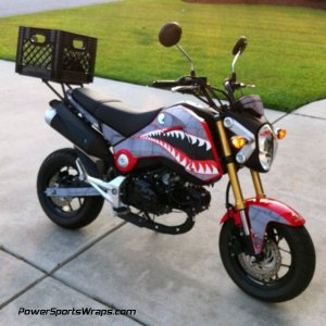 Dirty Air Craft Grom graphics kit