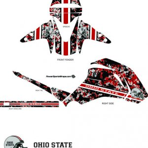 Ohio State camo Pattern Grom