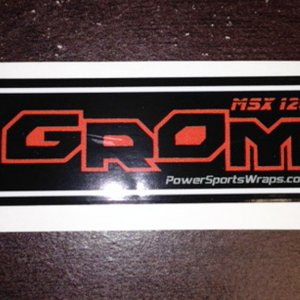 Grom Decal - MSX125